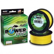 Плетеная леска Power Pro Hi-Vis Yellow