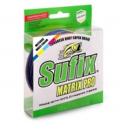 Плетеная леска Sufix Matrix Pro x6 Multi Color