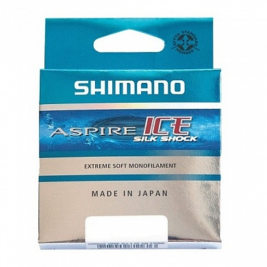 Леска зимняя Shimano Aspire Silk Shock Ice