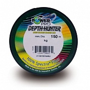 Плетеная леска Power Pro Depth Hunter Multicolor